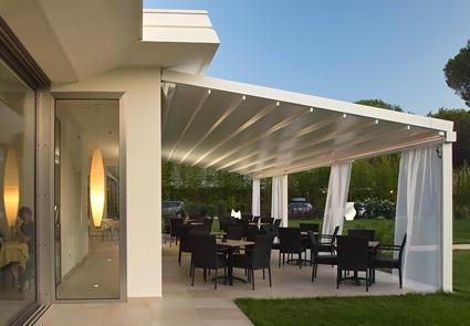 Beautiful Tettoie Per Terrazzi In Alluminio Contemporary - Design ...