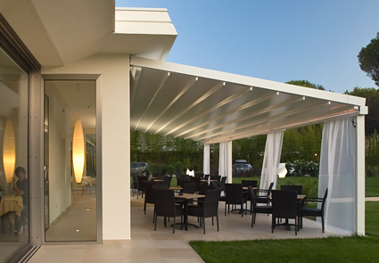 Stunning strutture mobili per terrazzi images idee arredamento